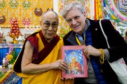 Co-Author Thurman & The Dalai Lama