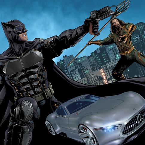 Mercedes Benz / Justice League