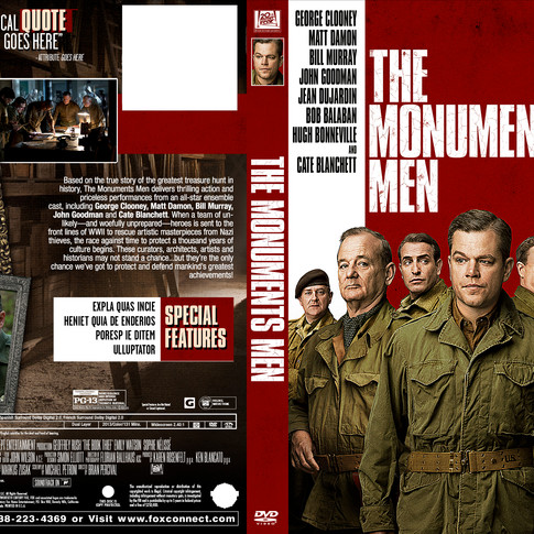 Monuments Men - Package