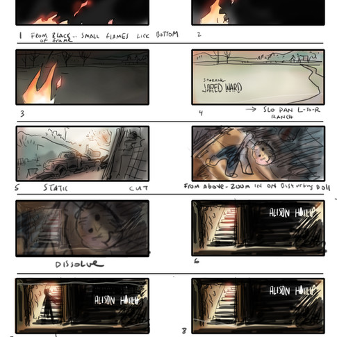 Sons of the Devil - Storyboards