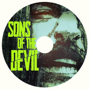 DVD disc design Client: OSSM Comics & Narrativve Entertainment