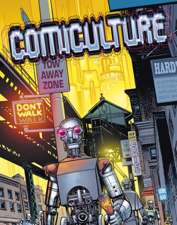 Comiculture #3 Cover