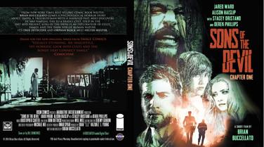 DVD cover design Client: OSSM Comics & Narrativve Entertainment