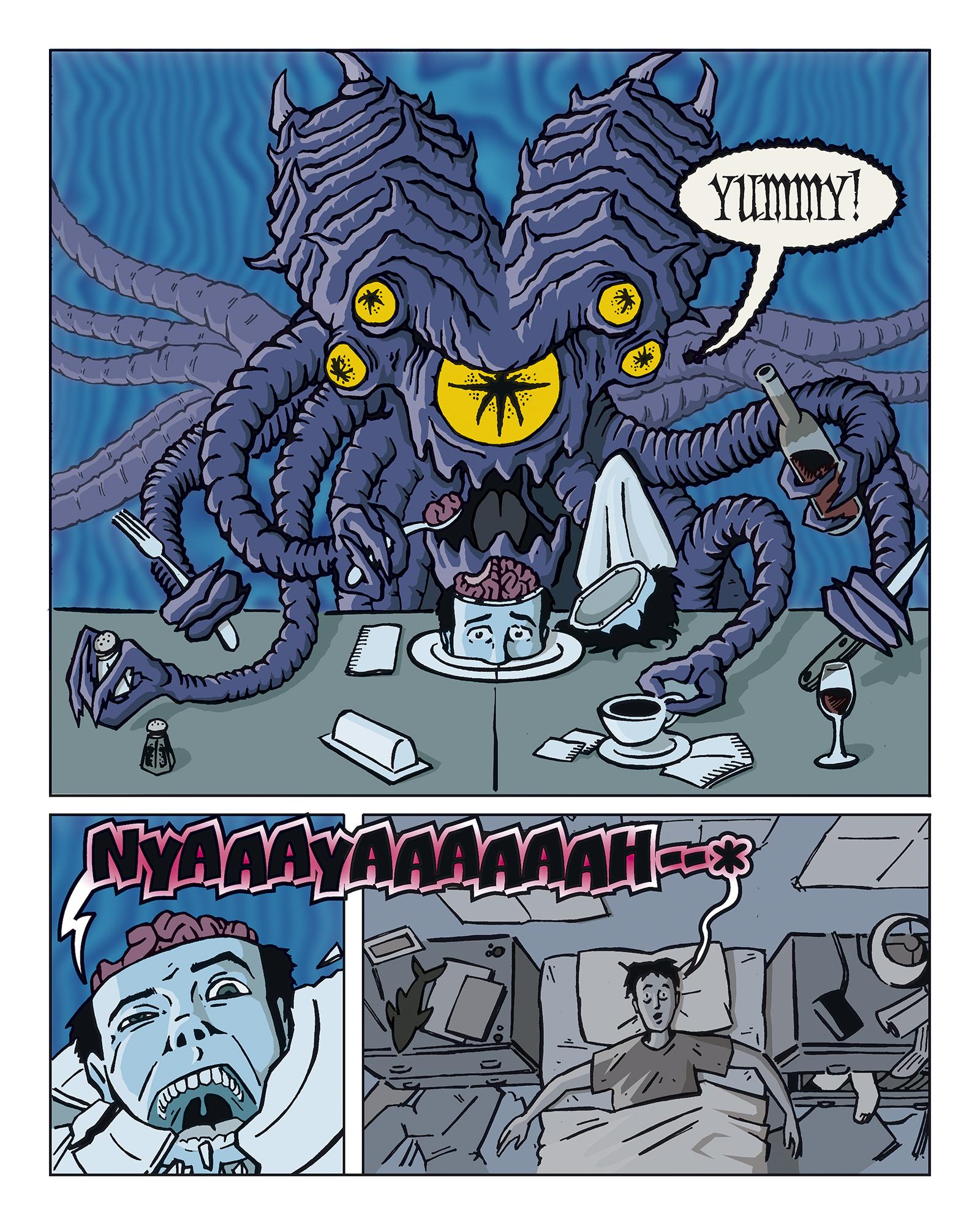 An Alien Ate My Brain