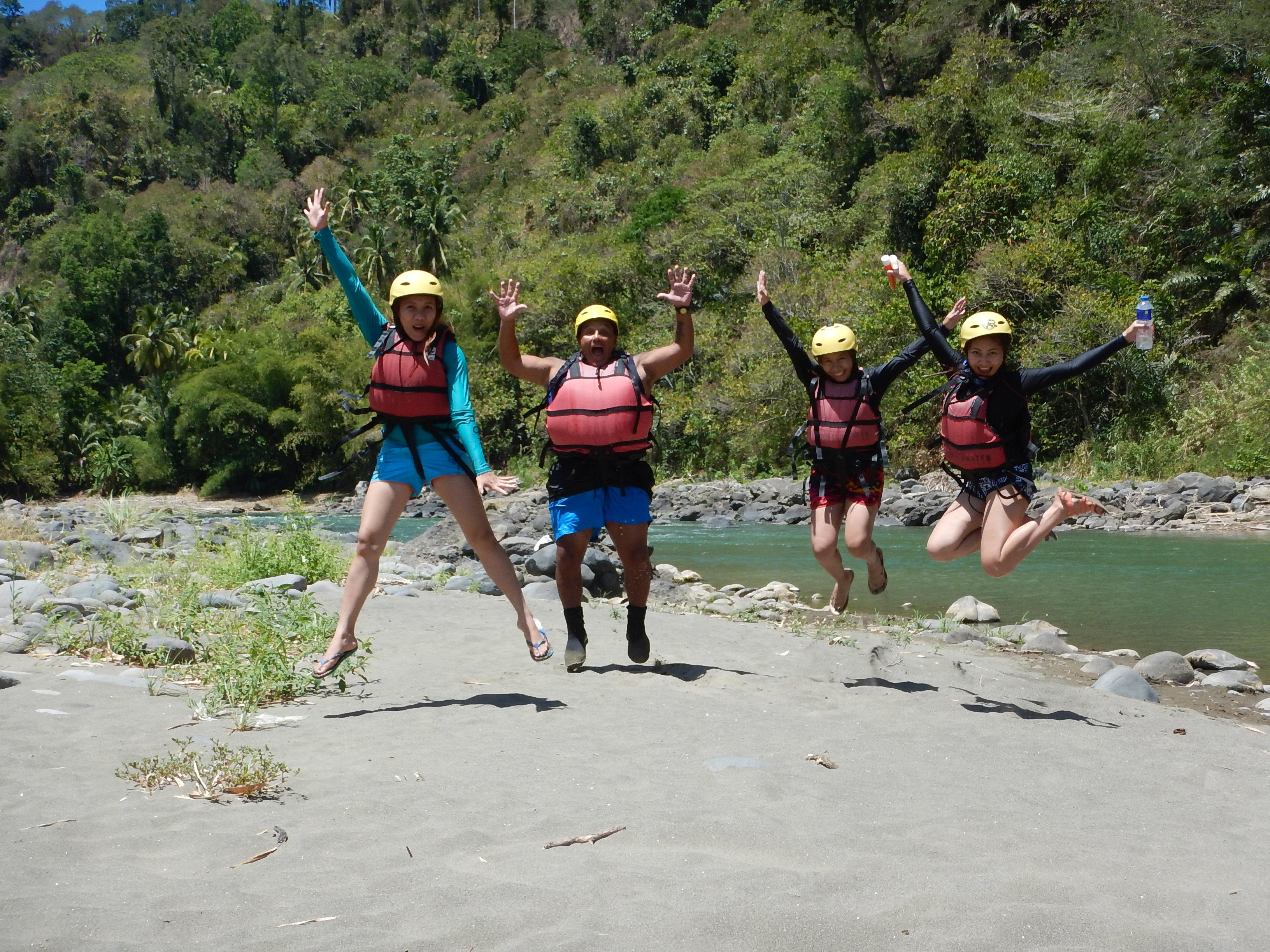White River Rafting in Davao
