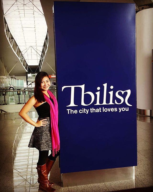 I left my tracks in Tbilisi #Georgia