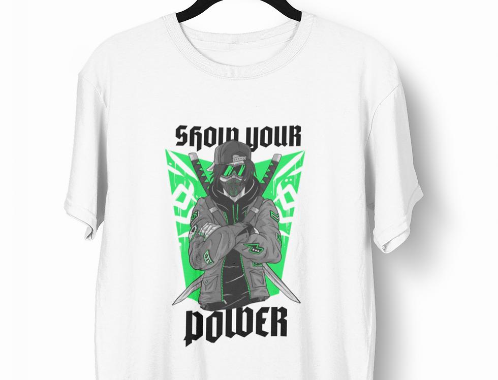 Camiseta Show your Power