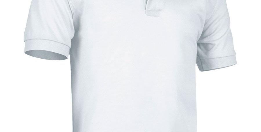 Camisa Polo Dry Fit Blanca para Hombre