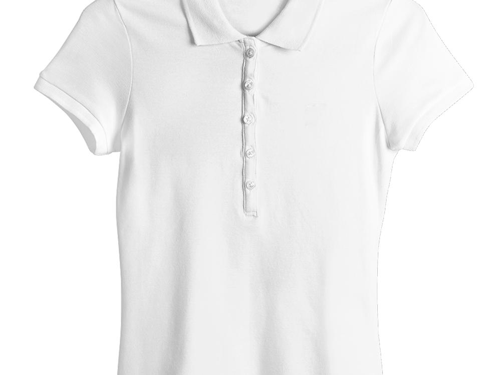 Blusa Tipo Polo para Mujer