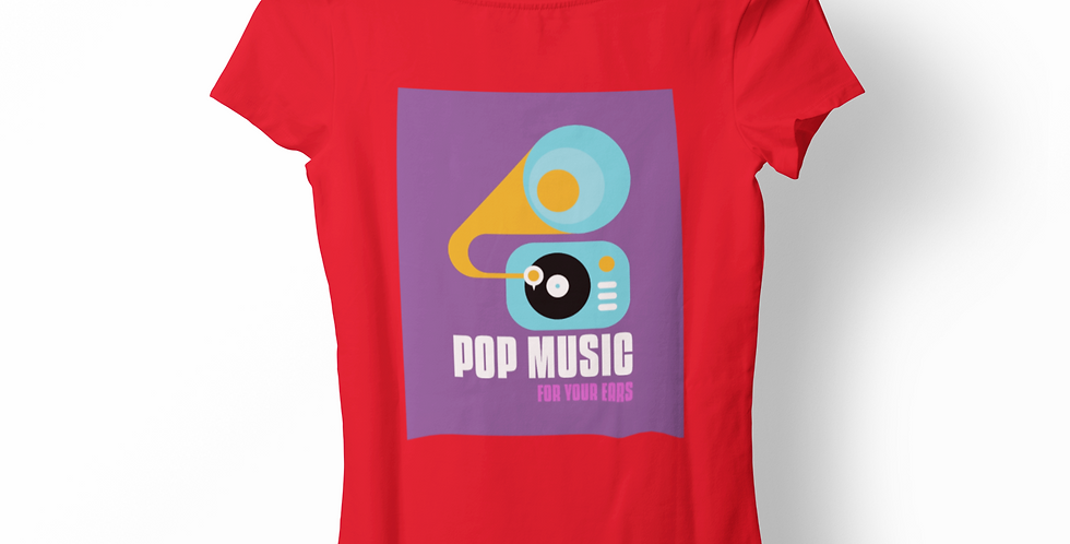 Blusa Pop Music