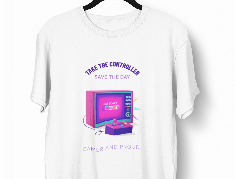 Camiseta Take the Controller