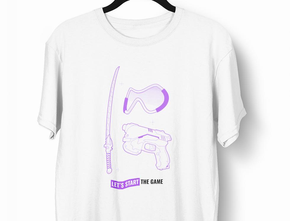 Camiseta Start the Game