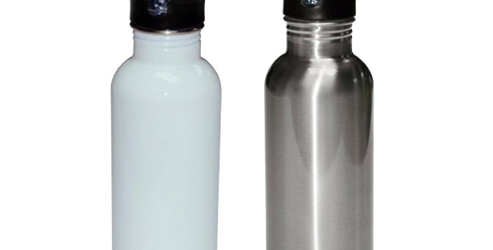 Botella con Pajilla