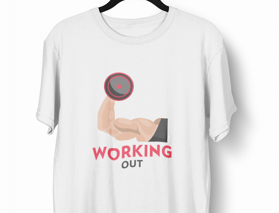 Camiseta Working Out