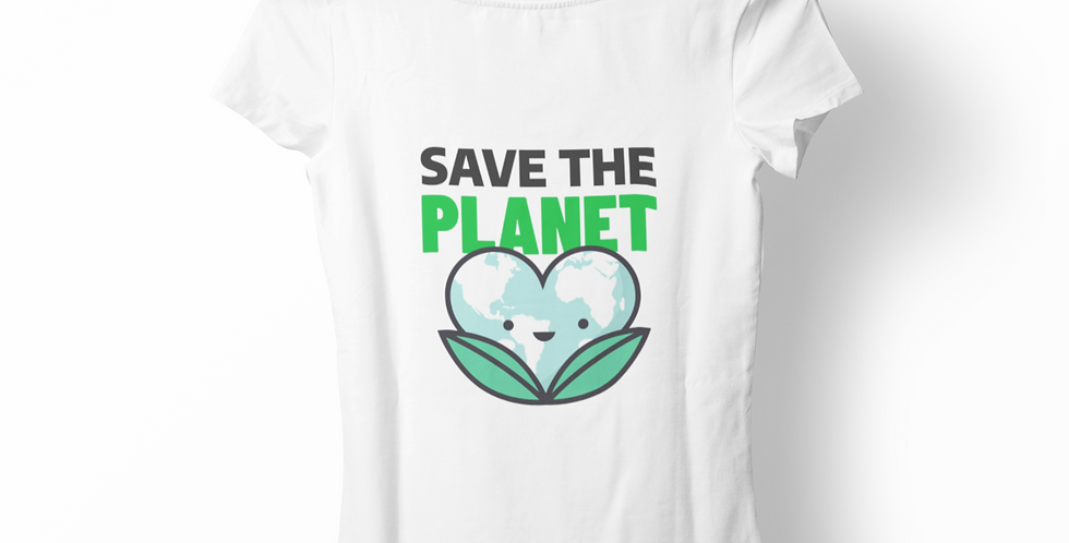 Blusa Save the Planet