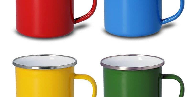 Tazas de Enamel de Colores