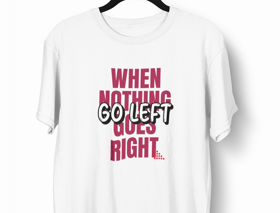 Camiseta Go Left