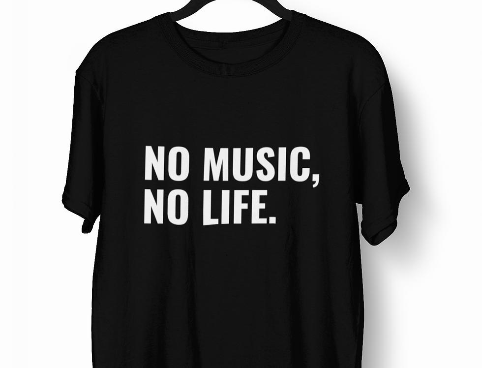 Camiseta No Music