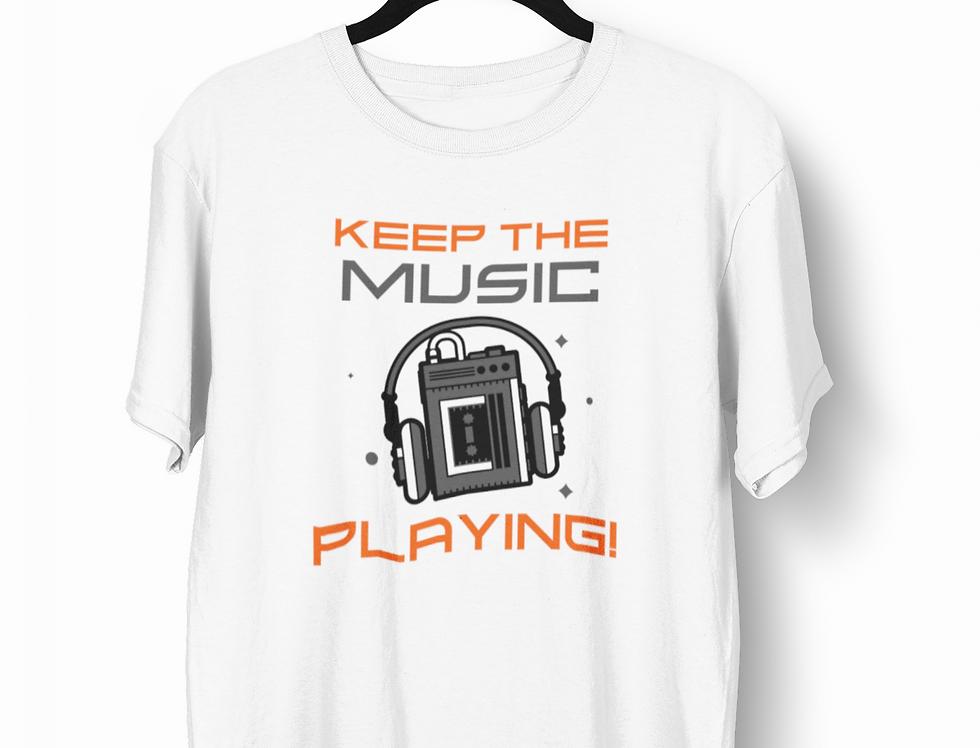 Camiseta Keep the Music
