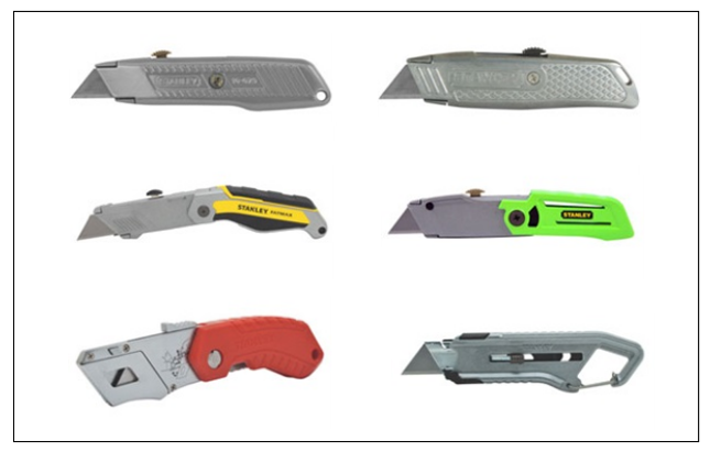 STANLEY UTILITY KNIVES AND BLADES, RETRACTABLE KNIVES SUPPLIERS IN INDIA