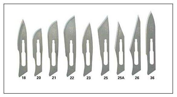 SCALPEL BLADES, NON-STERILE SCALPEL BLADES, NON-STERILE SURGICAL BLADES SUPPLIERS IN INDIA