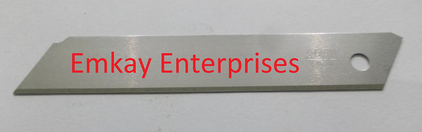 SDI INDUSTRIAL CUTTER BLADES WITHOUT SNAP, SNAP-OFF BLADES SUPPLIERS IN INDIA
