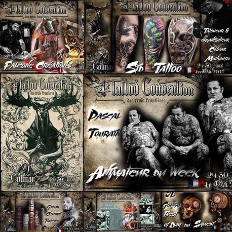 L'international Tattoo convention des tr