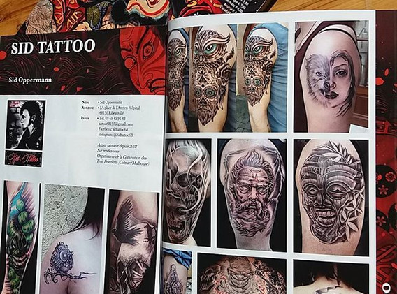 #tattoomagazine #artiste #sidtattoo