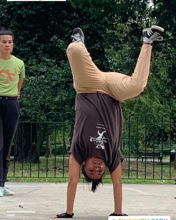 Capoeira Angola Outdoors classes
