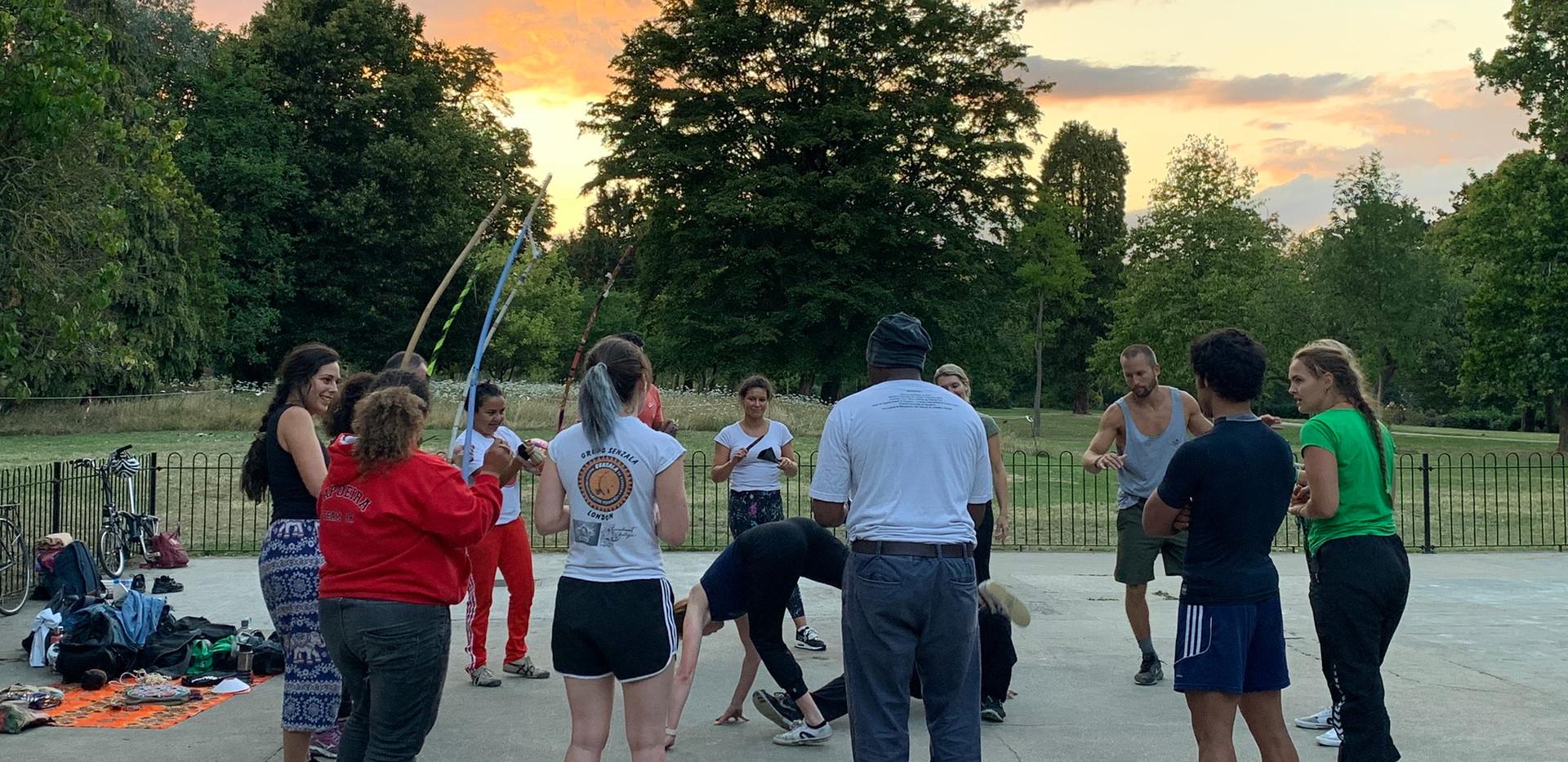Capoeira Angola Classes in North London