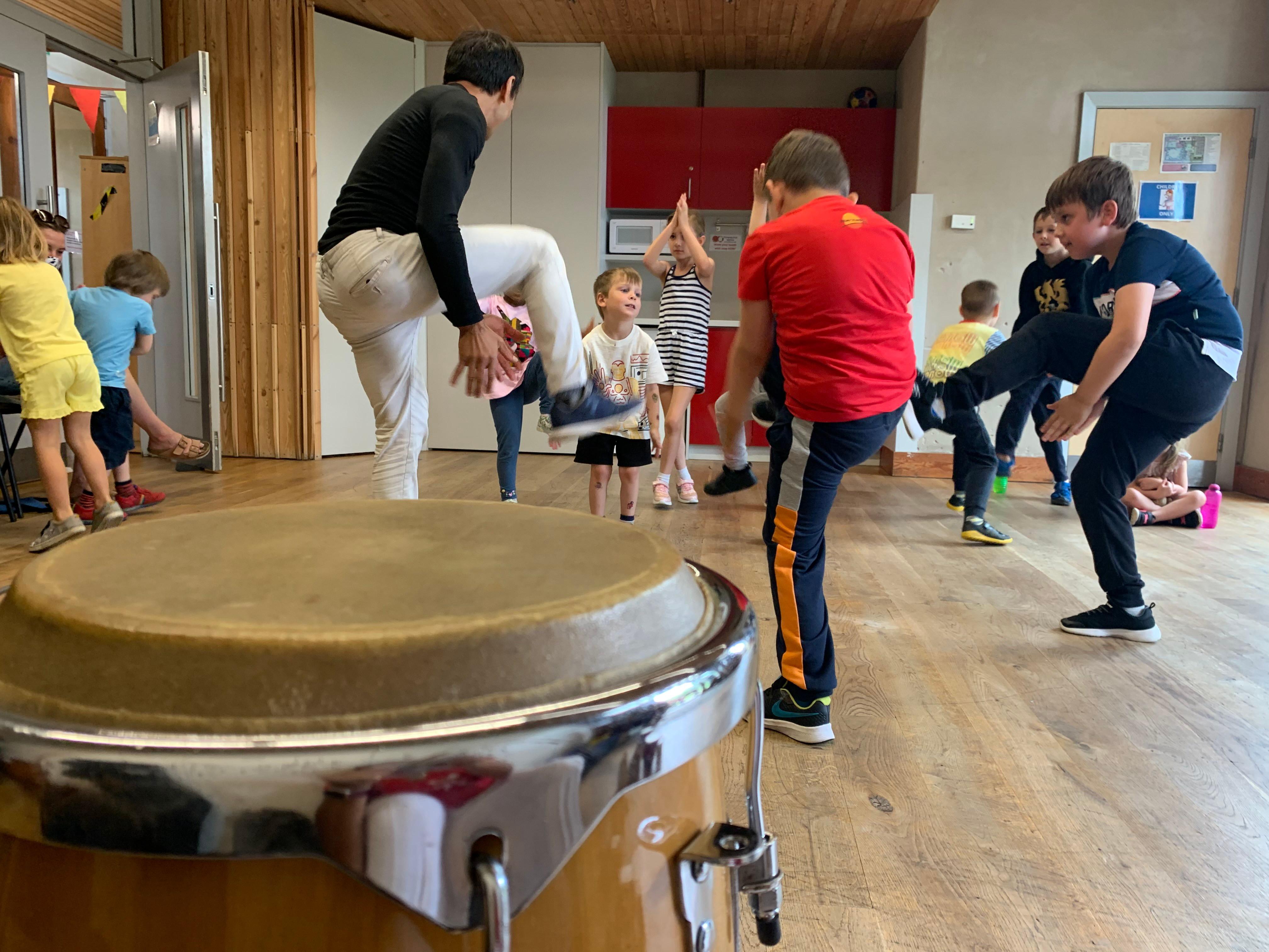 Capoeira Kids Class @ Lordship Hub