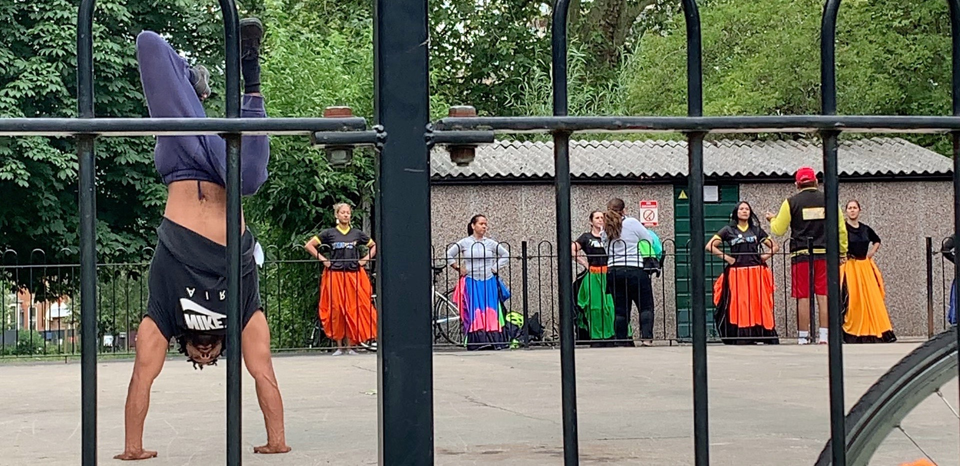 Capoeira Angola for all in North London