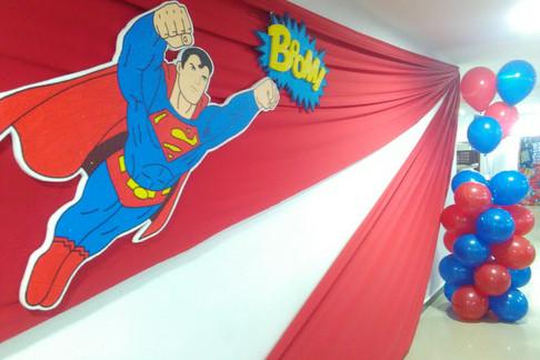 DECORACIÓN SUPERMAN