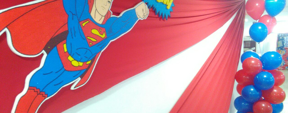DECORACIÓN SUPERMAN