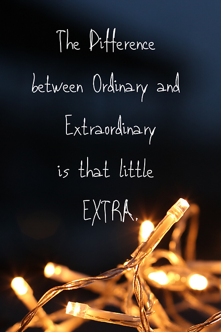 The Difference between Ordinary and Extr
