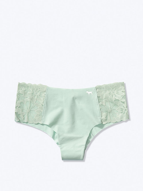 Бесшовные трусики чикстер Lace Trim Victoria`s Secret (PINK)