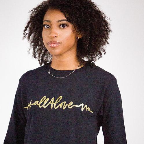 "Long Sleeve ""All4Love"" Logo Shirt"