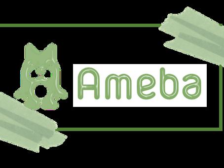 アメブロのバナーを作成してみました♡