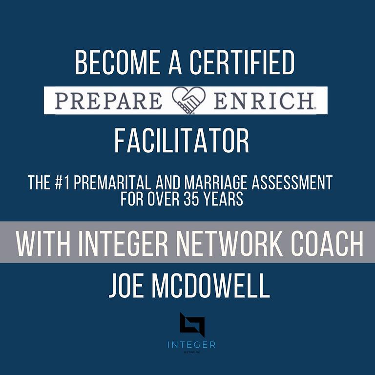 Prepare / Enrich Facilitator Training with Coach Joe McDowell