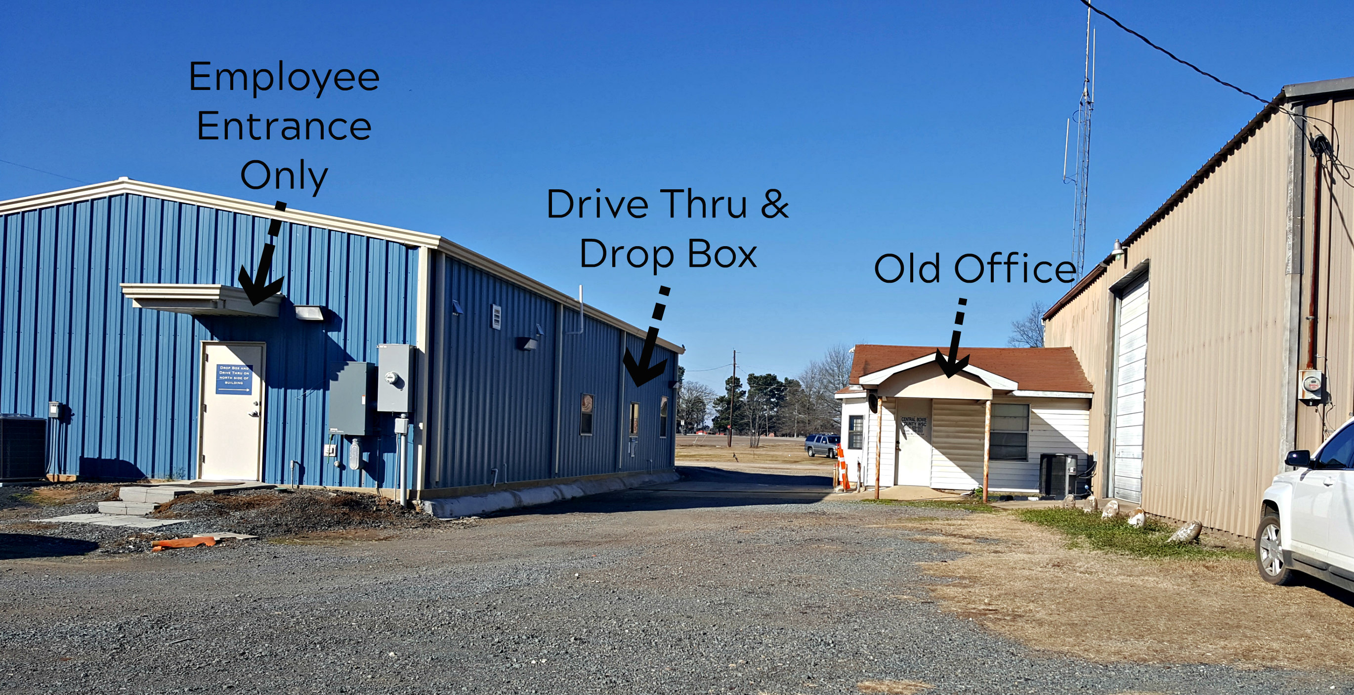 Drive Thru & Drop Box
