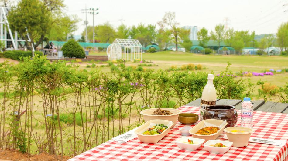 피크닉 비빔밥