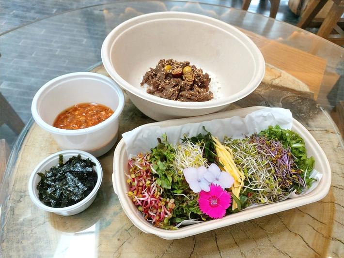 강된장 새싹 비빔밥