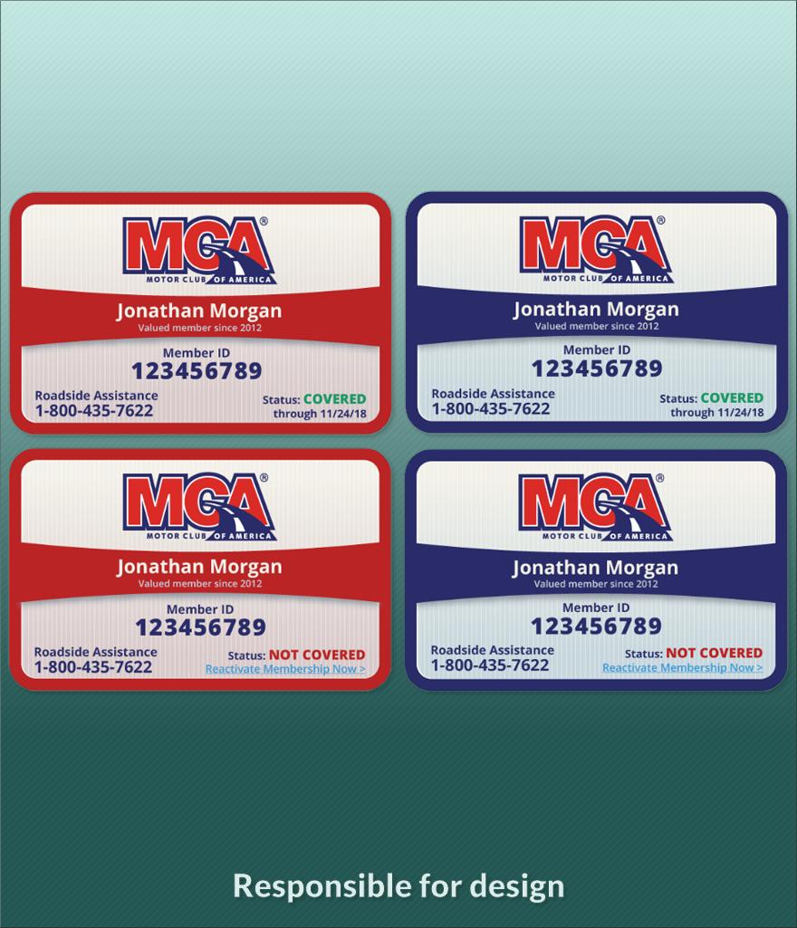 Membership Card Redesign