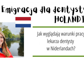 Emigracja dla dentysty: HOLANDIA