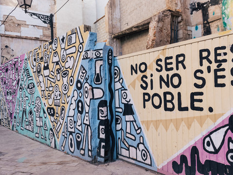 Art and Streets in Europe: first stop, Valencia!