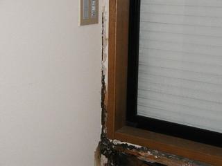 ドクター雨仕舞い 外壁開口部 雨漏り調査 サッシまわり