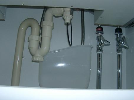 水洗器具の止水・ストレーナーつまりを点検