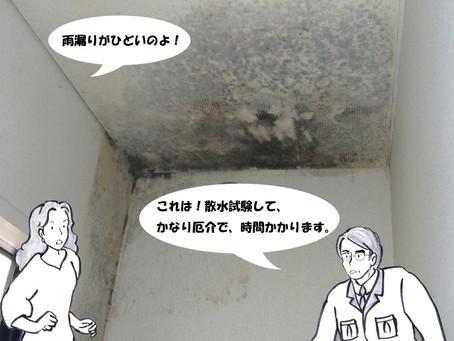 内部に雨漏り跡・結露跡はないか