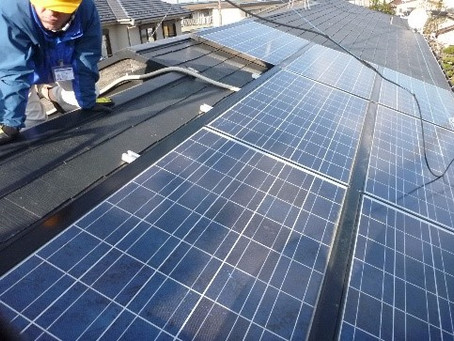 ソーラーは雨漏りの可能性を高める