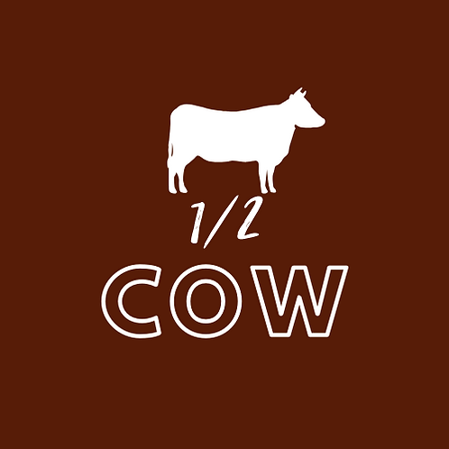 1/2 Cow